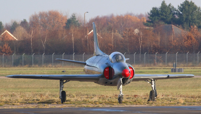 "Swift F.4 WK275 ""out to grass""..........for the Winter ??<br /> By Correne Calow."
