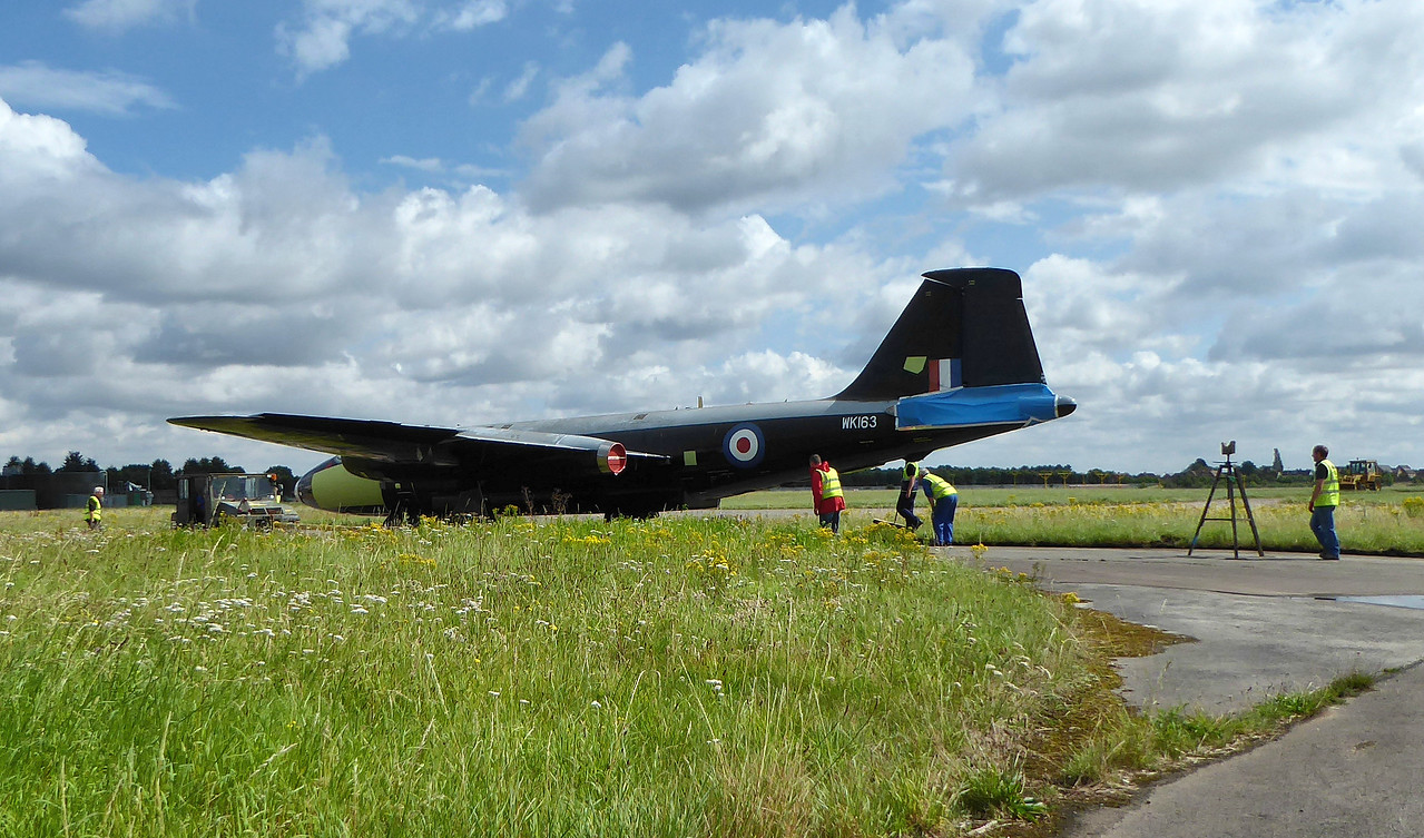 Canberra B2/6 WK163 (G-CTTS) <br /> By Correne Calow.