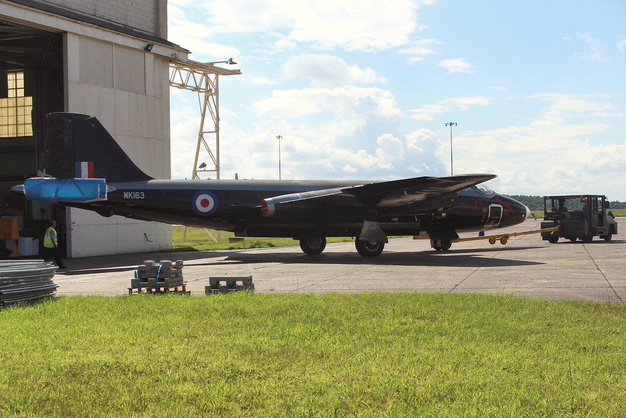 Canberra B2/6 WK163 (G-CTTS) <br /> By Graham Miller.