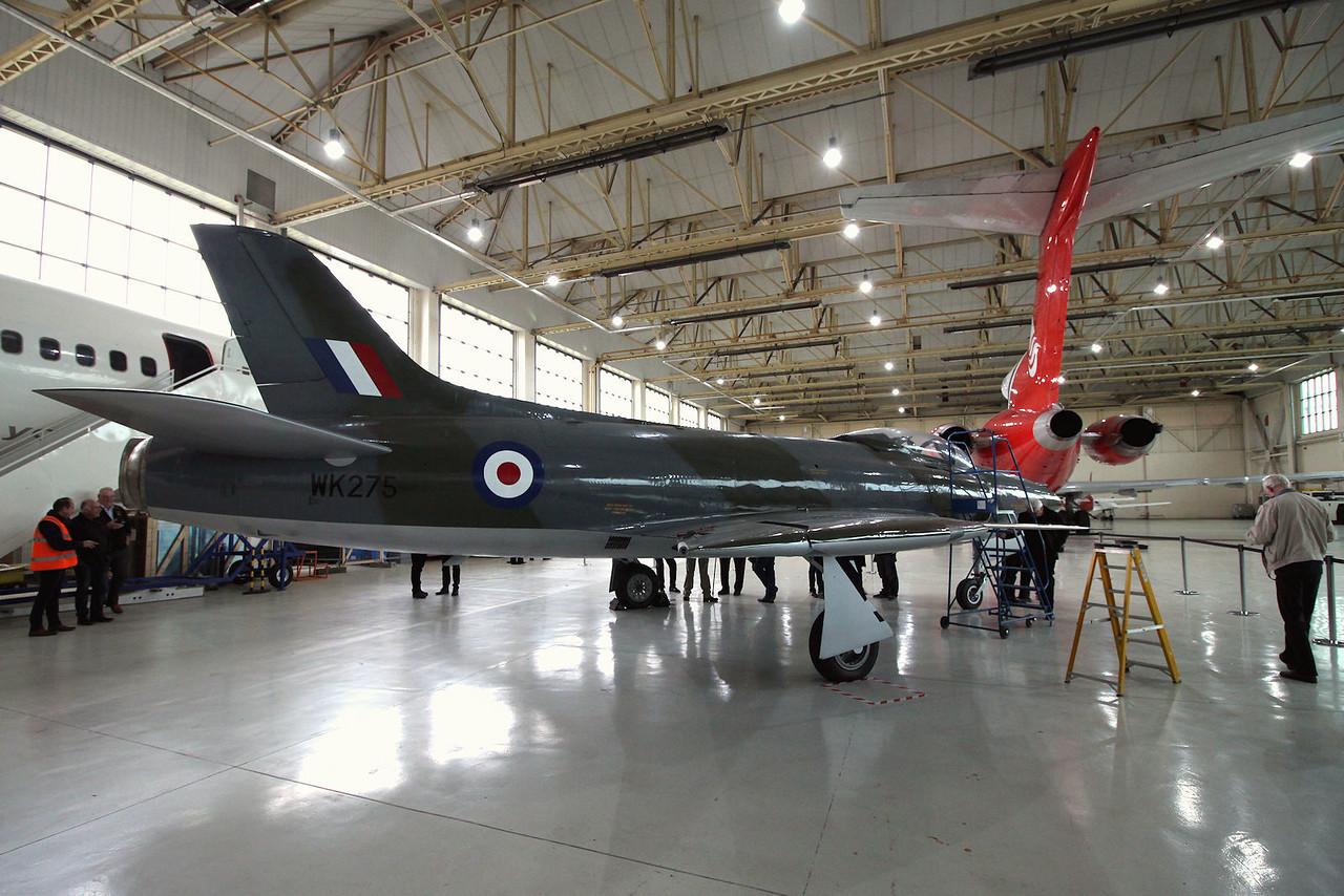 Supermarine Swift F.4 WK275<br /> By Graham Miller.