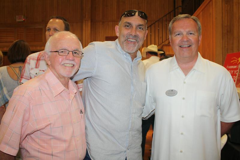 Dick Trammel, Dwight Pfeffer, Gregg Spragg