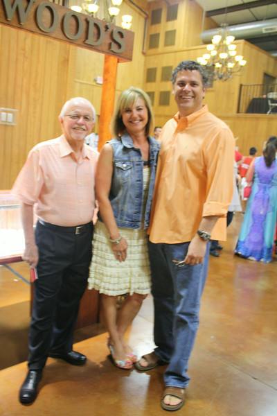 Dick Trammel, Laura and Craig Underwood