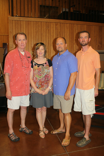 Brian and Debbie Holt, Jeff Waggener, Josh Lunsford