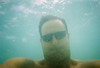 Me underwater at the beach