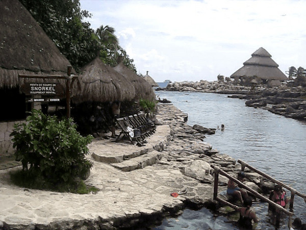 Video of some of the quieter parts of Xcaret