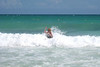 Cheri in the surf