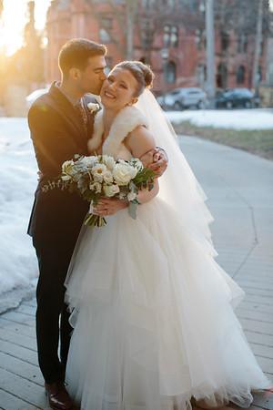 Candace + Eric Wedding