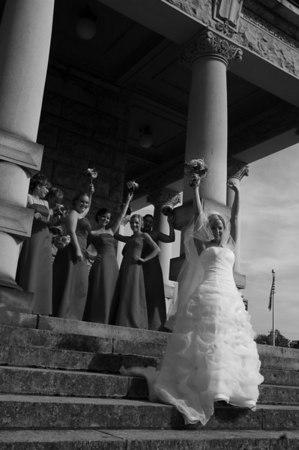 Wedding PartyDSC_8242 bw