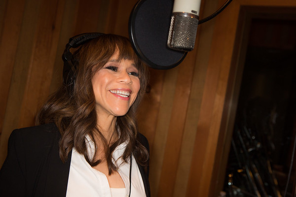 "Rosie Perez at the Broadway for Orlando benefit single recording of ""What the World Needs Now Is Love"" - June 15, 2016 - Avatar Studios, NYC (Photo: Jeremy Daniel)"