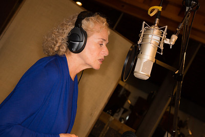 "Carole King at the Broadway for Orlando benefit single recording of ""What the World Needs Now Is Love"" - June 15, 2016 - Avatar Studios, NYC (Photo: Jeremy Daniel)"