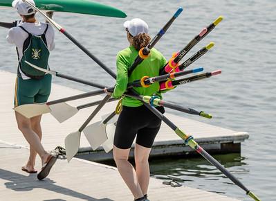Oar technique in Team Rowing