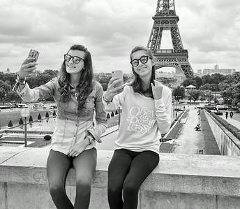 Leica Meet, Paris, B&W