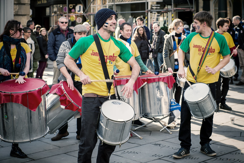 Drumming up the Money