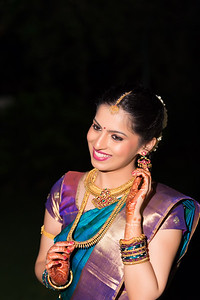Candid real colorful photographs captured at an Engagement in Bangalore, India