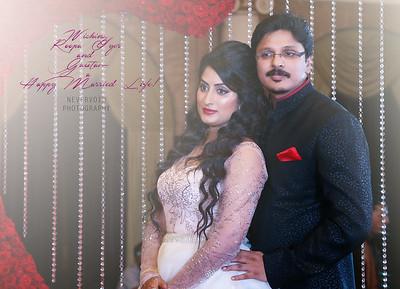 Roopa Iyer weds Gautam Srivatsa