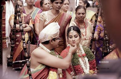 Roopa weds Gautam - celebrity wedding photography