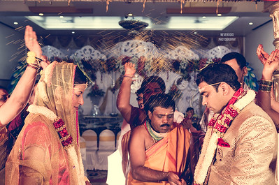 Blessings for the newly wedded couple