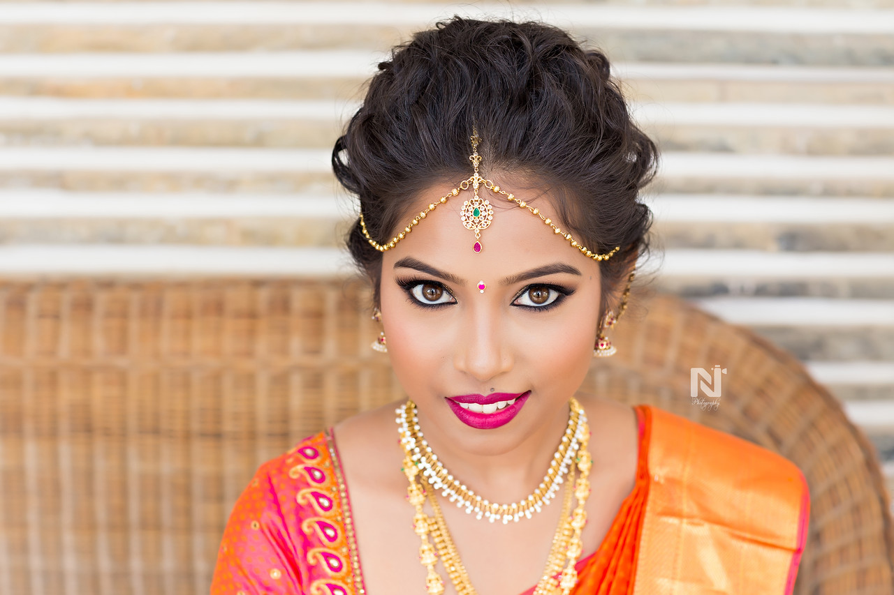 A gorgeous bride all set for her big day