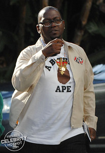 Randy Jackson arrives at the LA Lakers For Game 1 Of The NBA Finals