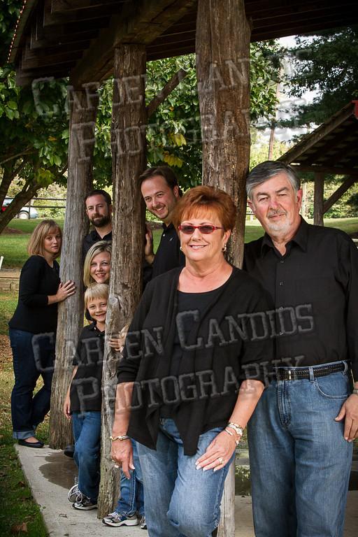 Jones Family at the Park-7