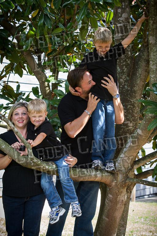 Jones Family at the Park-11