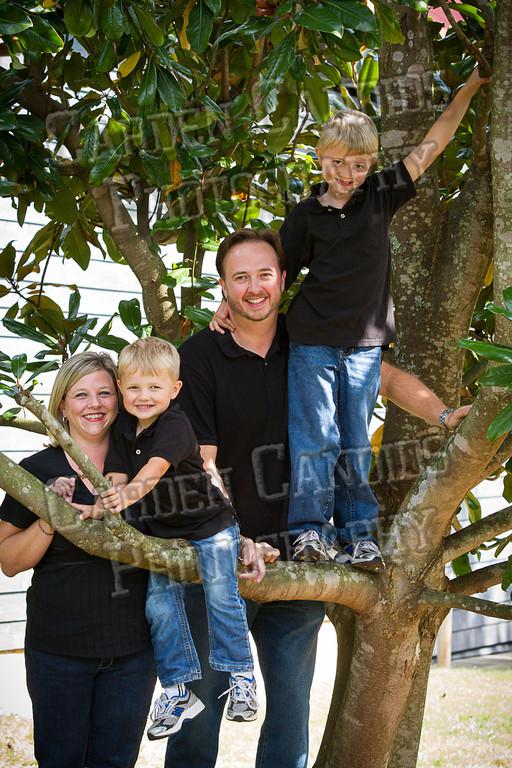 Jones Family at the Park-12