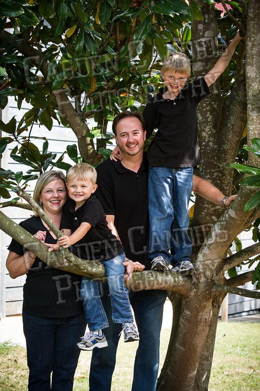 Jones Family at the Park-13