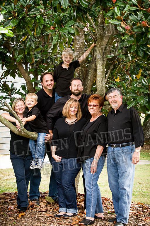 Jones Family at the Park-16