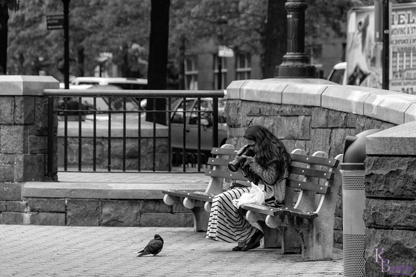 Nothing like a  cooperative subject, even if it's just a pigeon.