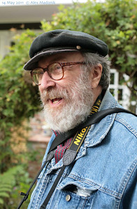 Picture taken by Alex Maldonik at George Lakoff's 70th Birthday Celebration, May 14, 2011