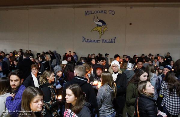 Candlelight vigil honoring PV teacher and soccer coach Brett Silva