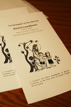 Asher Ethan Brooks - The Sacrament of Holy Baptism