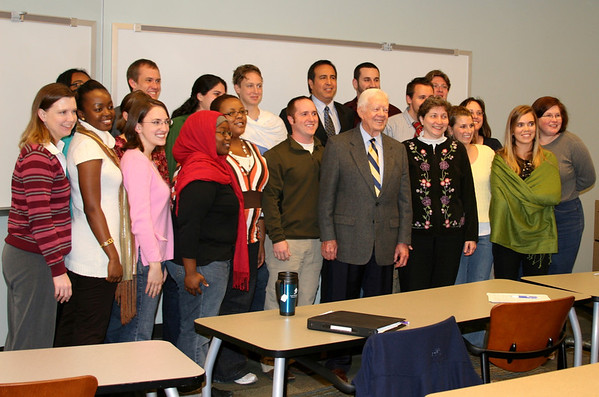 President Jimmy Carter -- small course lecture