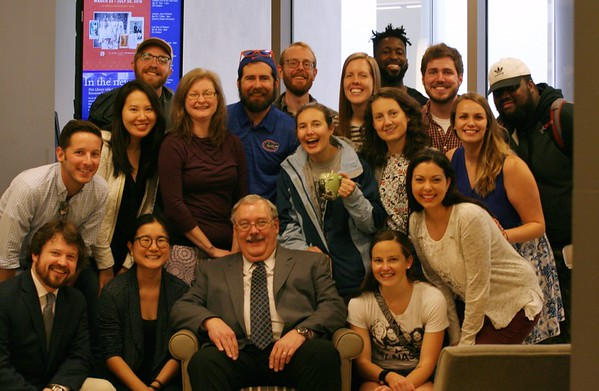 Farewell  Rex Matthews -- From your Students and Colleagues