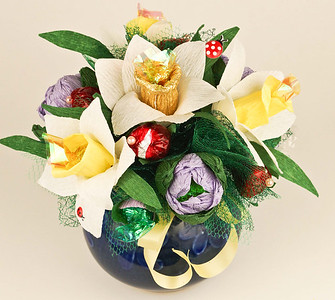 Gift Basket  - $35.00     Spring basket will give you a special mood for spring holiday.