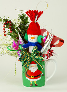 Christmas Candy Basket- 25.00