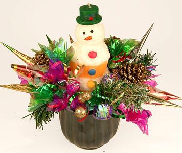 Snowman Basket- $45.00