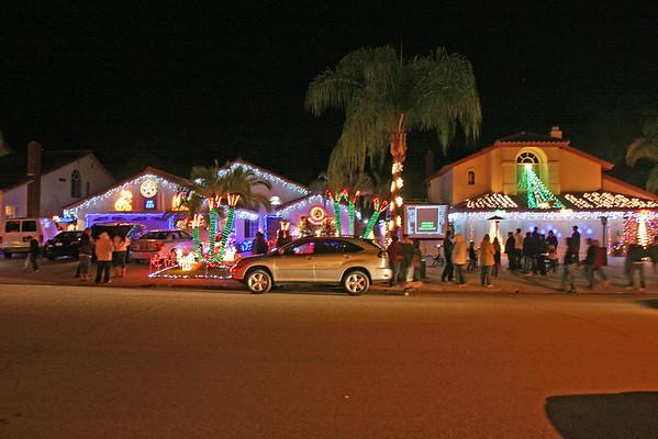 Christmas at Candy Cane Lane Poway