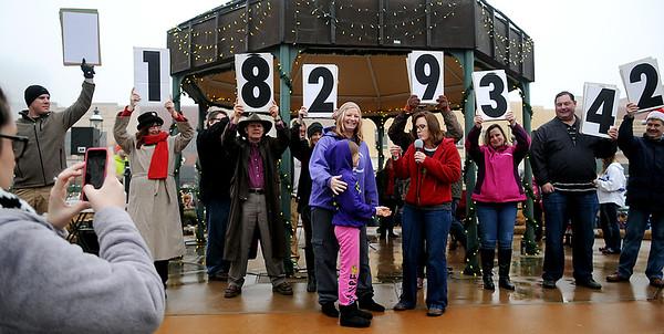 Candy Cane Cash Winner (Staff Photo by BONNIE VCULEK)