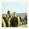 GC-18: Maybe Larry Boetsch (NJ) on left and John W. Hacker (CA) on right, aboard the USNS Upshur