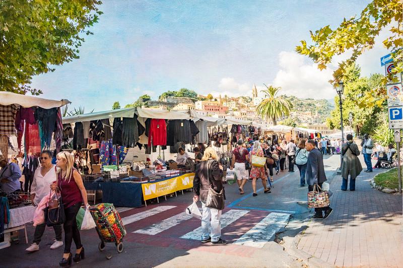 Bag Ladies on Market Day
