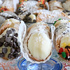 There will be a cannoli festival at Monument Square in Leominster on October 6, 2016 at 5:30 to 8:30. her are some traditional cannoli's from Joyce's Pies & Bakery on North Main Street in Leominster. She is just one of the many places that will be at the festival that day. Seen here is a chocolate chip cannoli, just a traditional one and a fall decorative one with a chocolate drizzle. SENTINEL & ENTERPRISE/JOHN LOVE