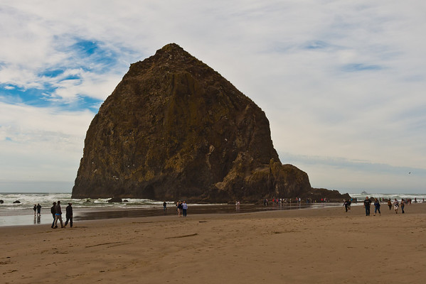 Haystack Rock. There are many photos like this, but this one is mine.