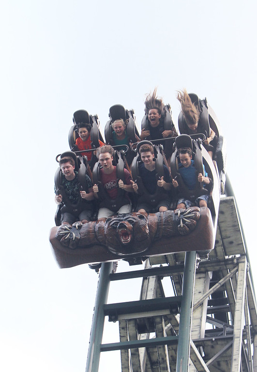. Untamed thrill ride at Canobie Lake Park in Salem, N.H. (SUN/Julia Malakie)