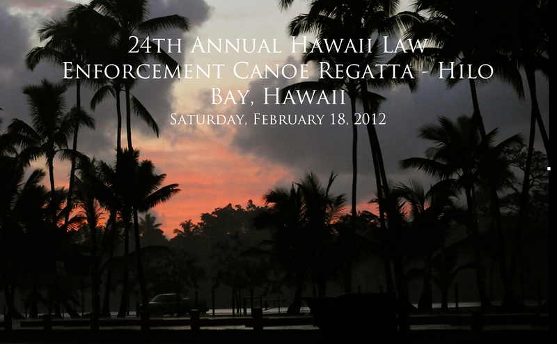 24th Annual Hawaii Law Enforcement Canoe Regatta - Race