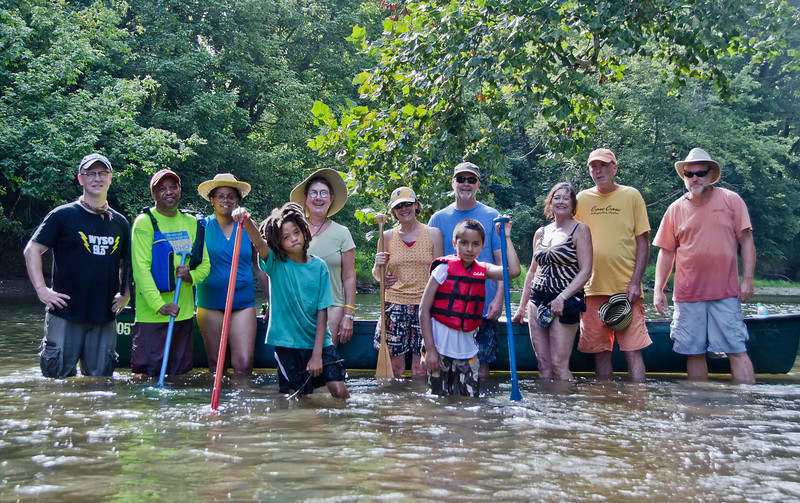 The 2nd WYSO Guided canoe Trip...