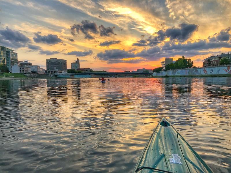 Great Miami River, Dayton