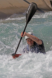Robert Healy competes at USA Canoe/Kayak Olympic Trials Day 1 at U.S. National Whitewater Center -- Monday, April 12, 2021