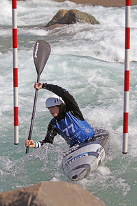 Benjamin Southworth competes at USA Canoe/Kayak Olympic Trials Day 1 at U.S. National Whitewater Center -- Monday, April 12, 2021