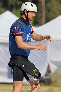 """Zachary """"Bug"""" Lokken visualizes his run at the USA Canoe/Kayak Slalom Olympic Trials Day 3 at U.S. National Whitewater Center -- Wednesday, April 14, 2021"""